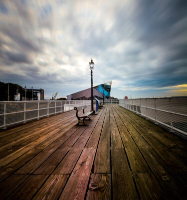 Victoria pier and The Deep
